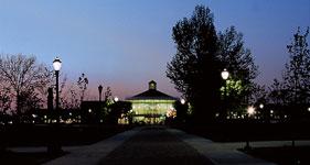 Campus Center at Night