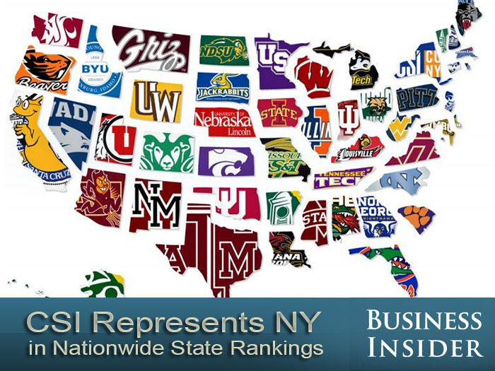 Csi represents ny in nationwide state rankings cuny newswire
