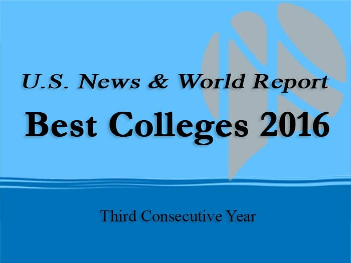 "U S  News Publishes ""Best Colleges"" List – CUNY Newswire"