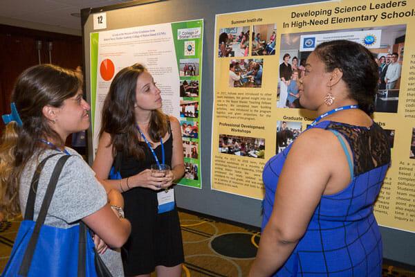 Teachers at Noyce Summit