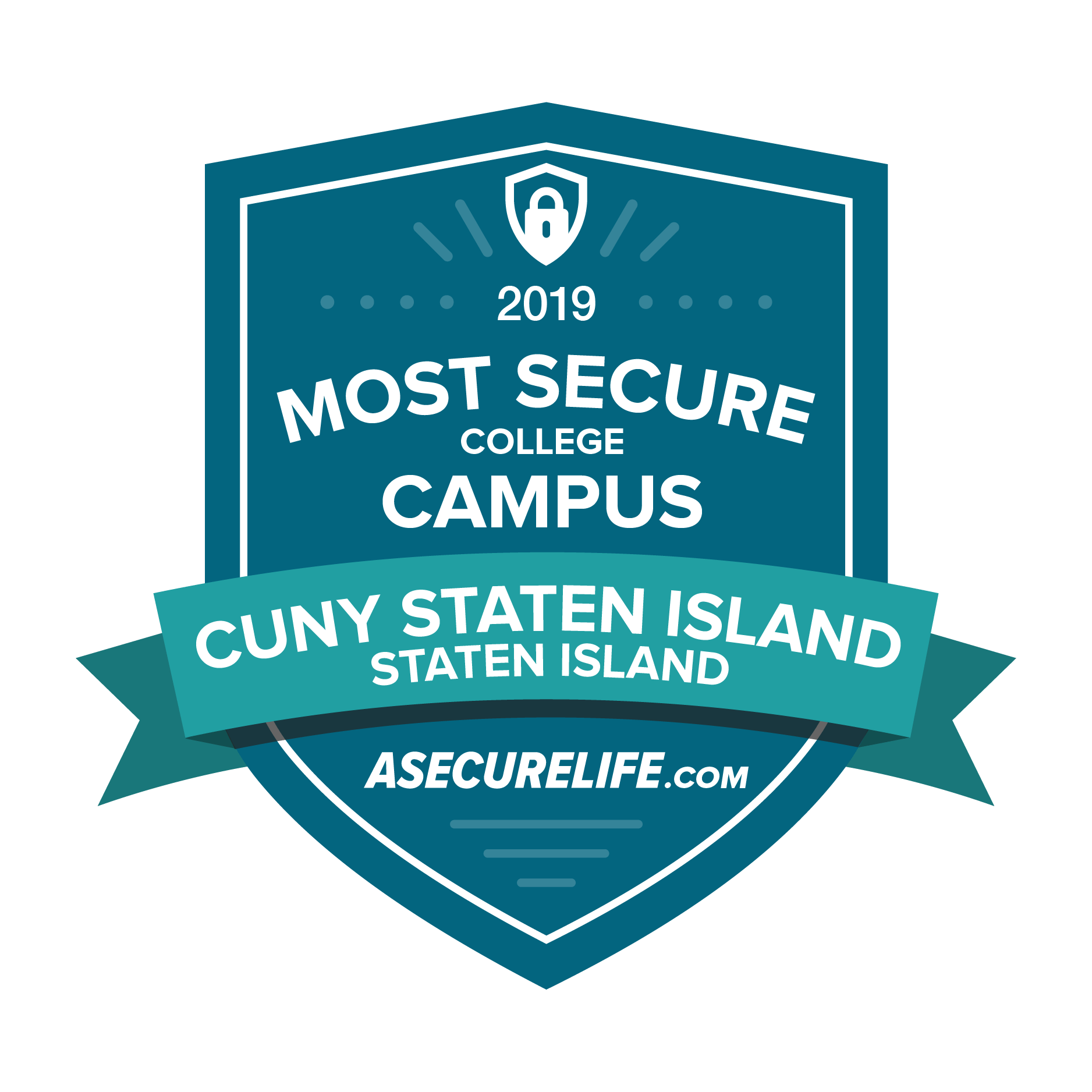 "ASecureLife Names CSI as One of the ""100 Most Secure College"