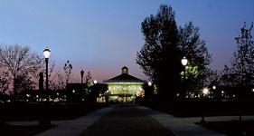 Campus Center at Night