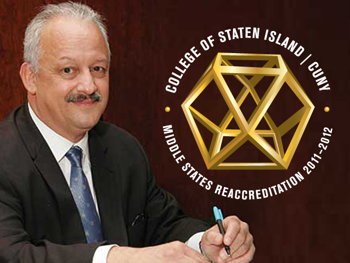 College of Staten Island President Dr. Tomás D. Morales